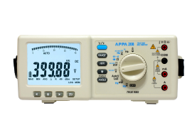 Digital multimeter APPA 208 - AC/DC, accuracy. 0,03%, USB