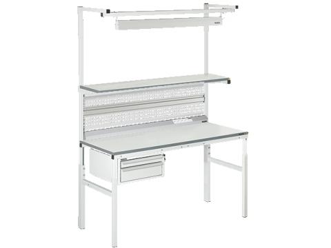 Stół laboratoryjny VIKING serii CLASSIC w wersji Technical w wybranej konfiguracji