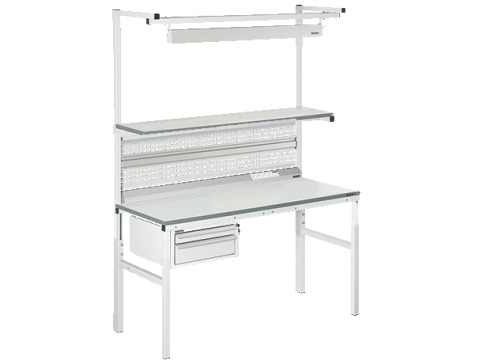 VIKING laboratory table CLASSIC series Technical version in the selected configuration
