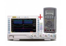 Nowoczesny zestaw pomiarowy oscyloskop RIGOL 1054Z + multimetr SANWA PC5000a