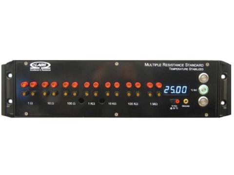 Wielozakresowy opornik MRS ze stabilizacją temperatury firmy OHM-LABS od 0.1 Ohm do 100MegaOhm