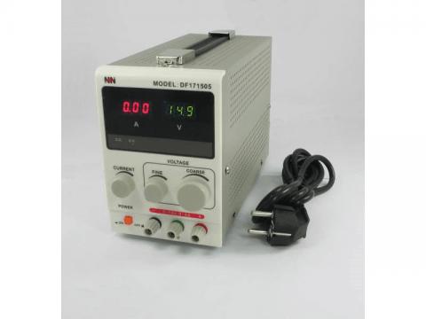 Zasilacz laboratoryjny DF171505 15V 5A NDN