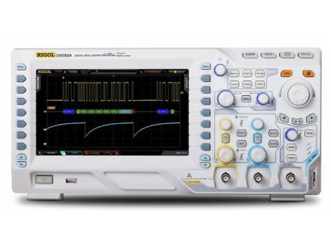 Oscyloskop cyfrowy DS2102E Rigol 100MHz, 2 kanały, 1 GSa/s, 28 Mpts