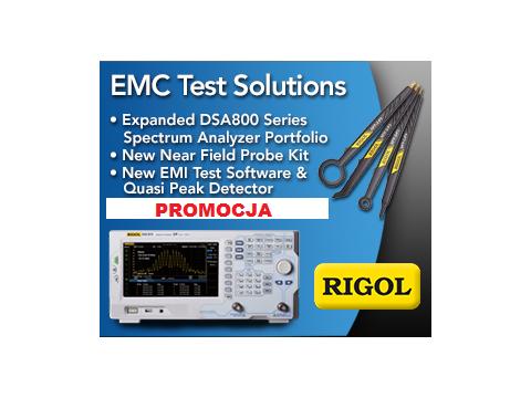 Zestaw promocyjny (Bundle) Rigol DSA EMI