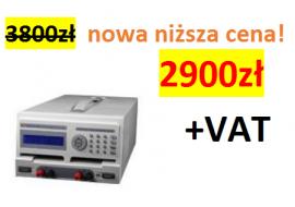 Zasilacz laboratoryjny DR1201 Motech 10V/10A lub 20V/5A 200W (2 kanały)