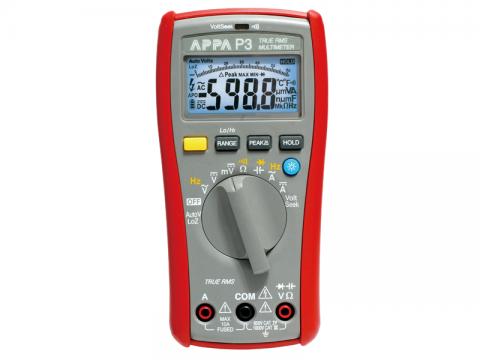 Multimetr cyfrowy APPA P3 dokł. 0.5% odczyt 6000 TRMS
