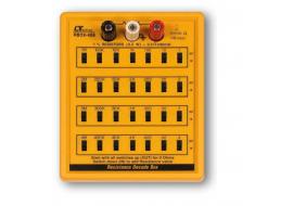 Dekada pojemności Lutron CBOX-406 100pf - 11,111F ze skokiem 100pF