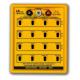 Dekada indukcyjna Lutron LBOX-405 10 uH - 111.1 mH, ze skokiem 10 uH