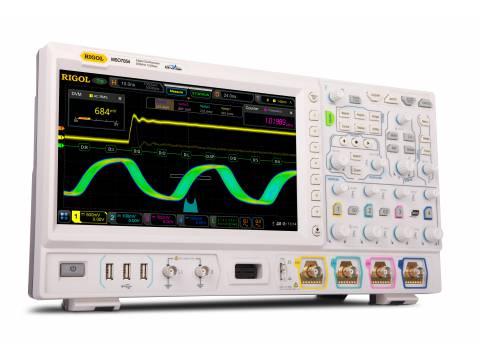 Oscyloskop cyfrowy MSO7054 Rigol - 4 ch, 500MHz, 10GSa/s 16-kanałowy analizator stanów logicznych