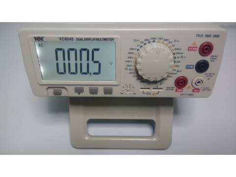 Multimetr cyfrowy NDN VC8045 do 1000V DC AC 10uV, do 20A