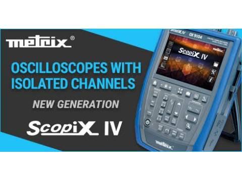 OSCYLOSKOP PRZENOŚNY Scopix 4 izolowane kanały