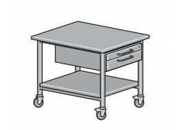ELABO - System meblowy EcoTec: Wózki laboratoryjne
