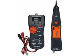Lokalizator kabli, tester złacz RJ45, USB, BNC, generator telefoniczny 165CB SEW
