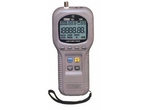 Reflektometryczny tester sieci LAN i kabli Finest 901TDR