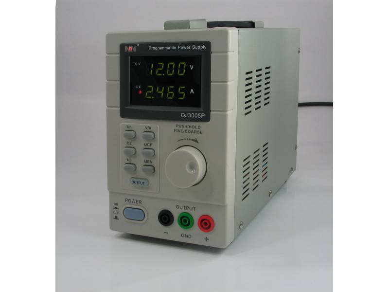 Programmable power supply NDN 3005P 30V 5A 10mV/1mA + SOFTWARE