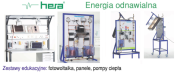 Energy educational sets, photovoltaics, heat pumps