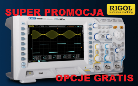 Promotion of the RIGOL oscilloscopes MSO / DS2000A series oscilloscopes - free options