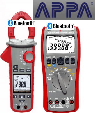 Multimetry APPA z Bluetooth