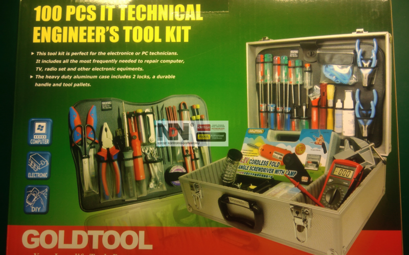 Workshop tools kit Goldtool