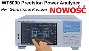 New power analysers Yokogwa WT5000