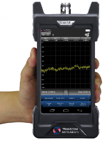 NEW! portable spectrum analyser from 9kHZ