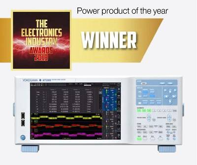 Yokogawa WT5000 winning the Award of the Year !