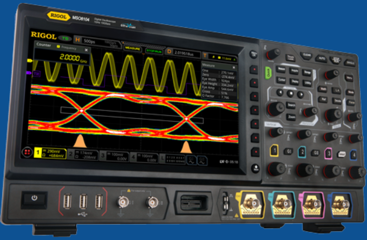 NEW! RIGOL oscilloscopes MSO8000 series