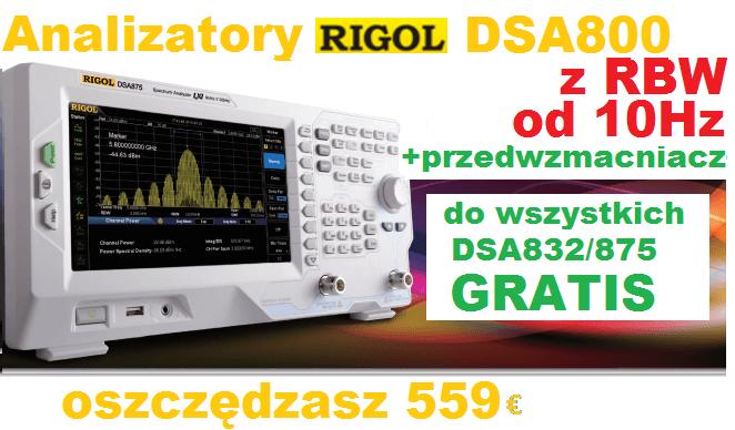 Analizator RIGOL DSA800